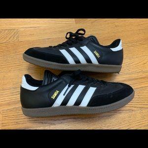 Adidas Samba Black Suede/Leather Sneakers